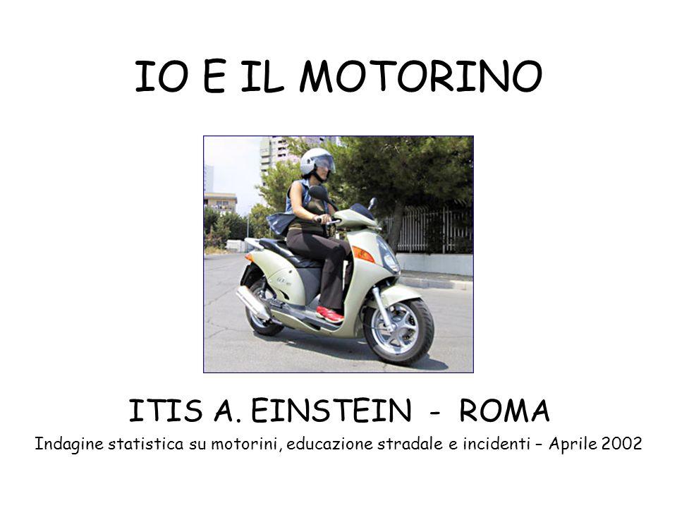 IO E IL MOTORINO ITIS A. EINSTEIN - ROMA.