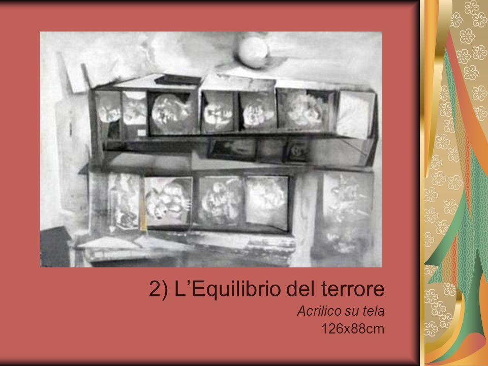 2) L'Equilibrio del terrore Acrilico su tela 126x88cm