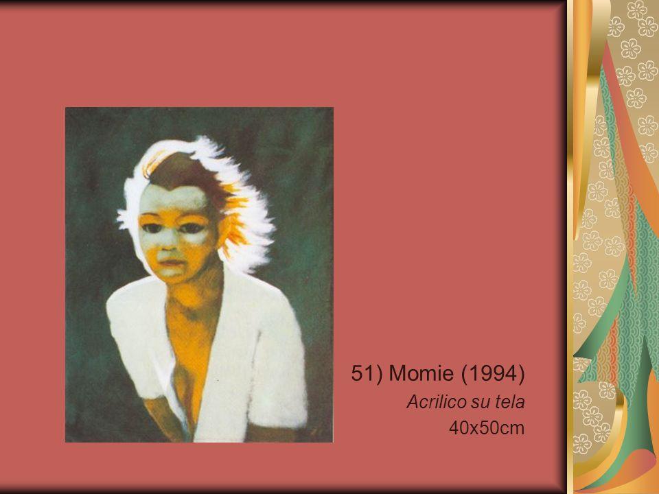 51) Momie (1994) Acrilico su tela 40x50cm