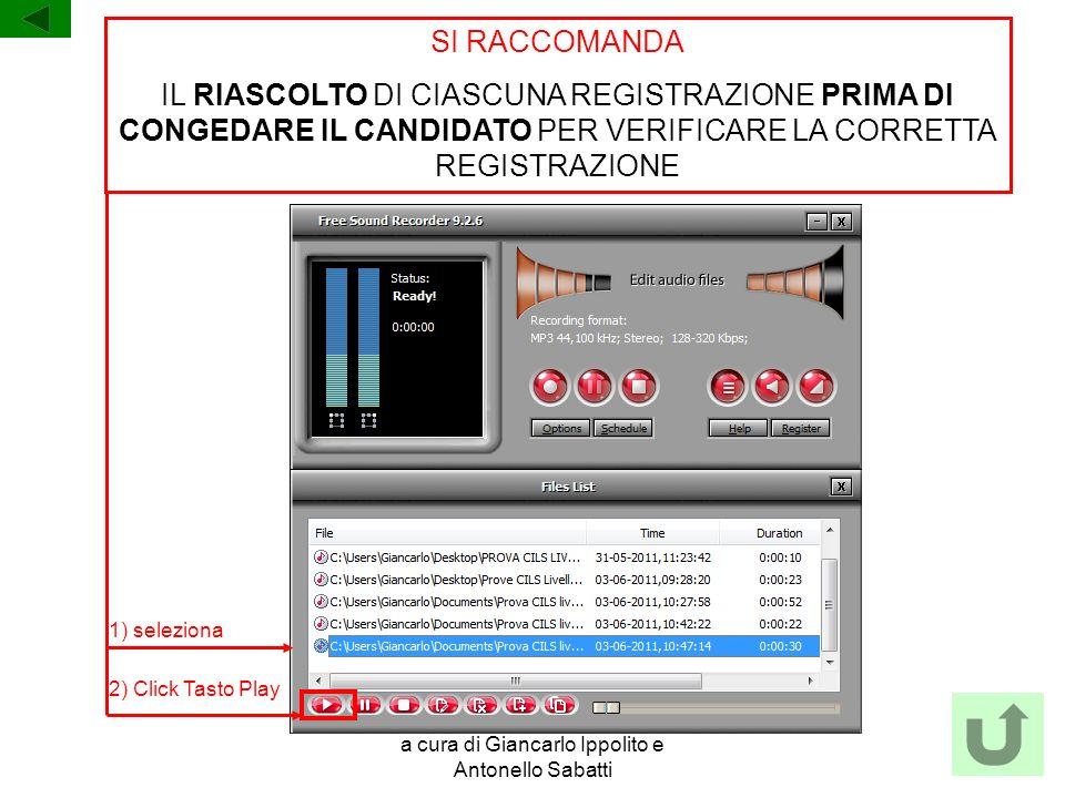 a cura di Giancarlo Ippolito e Antonello Sabatti