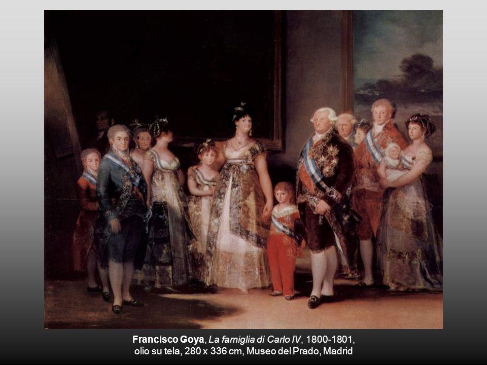 Francisco Goya, La famiglia di Carlo IV, 1800-1801,