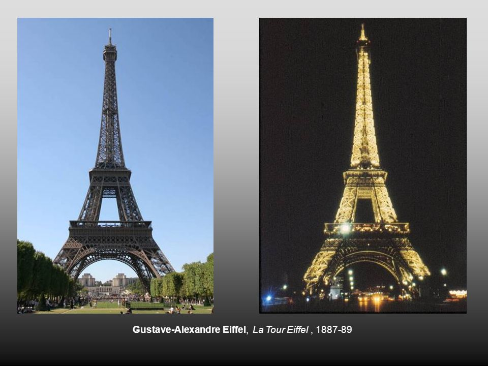 Gustave-Alexandre Eiffel, La Tour Eiffel , 1887-89