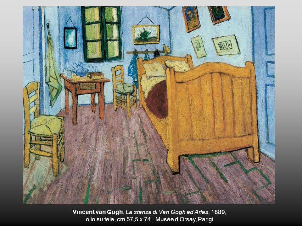 Vincent van Gogh, La stanza di Van Gogh ad Arles, 1889,