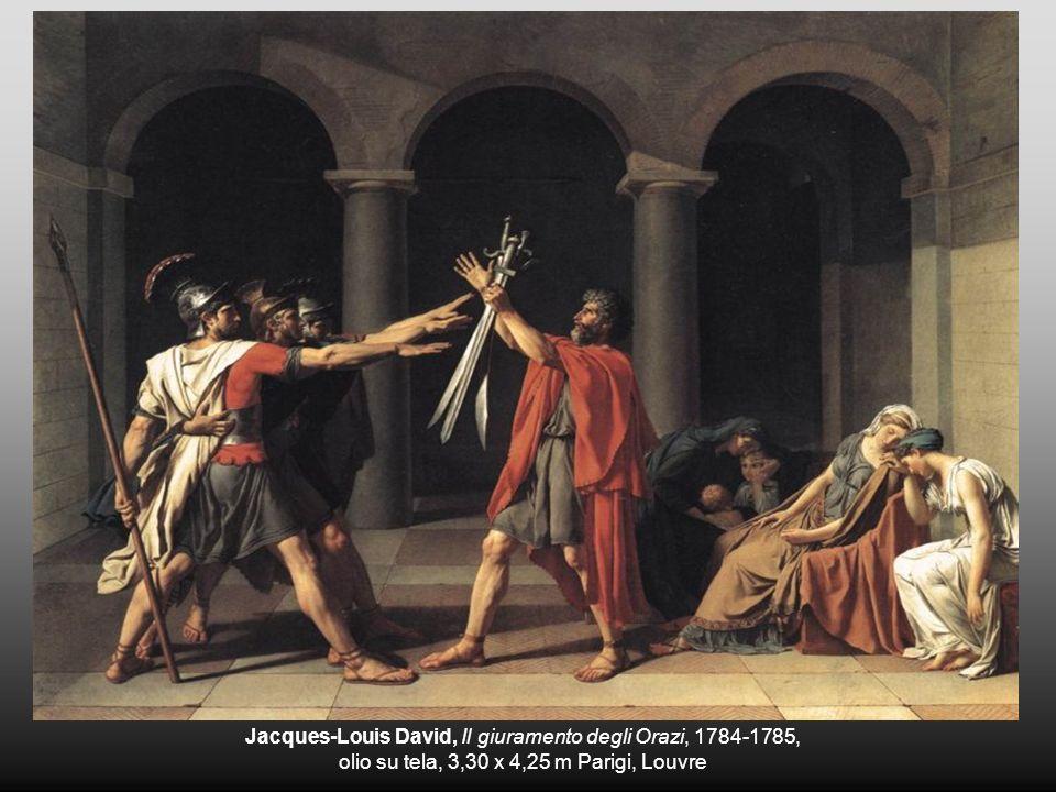 Jacques-Louis David, Il giuramento degli Orazi, 1784-1785,