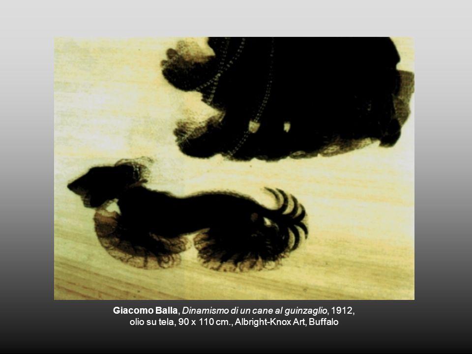 Giacomo Balla, Dinamismo di un cane al guinzaglio, 1912,