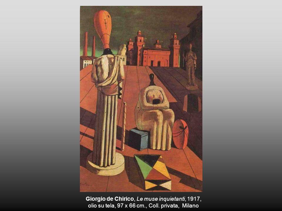 Giorgio de Chirico, Le muse inquietanti, 1917,