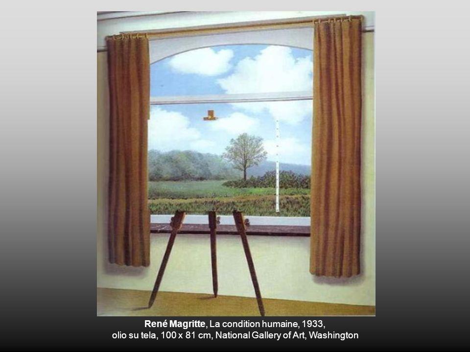René Magritte, La condition humaine, 1933,
