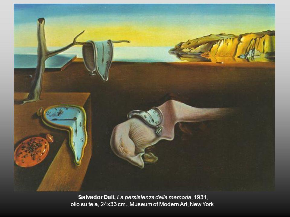 Salvador Dalì, La persistenza della memoria, 1931,