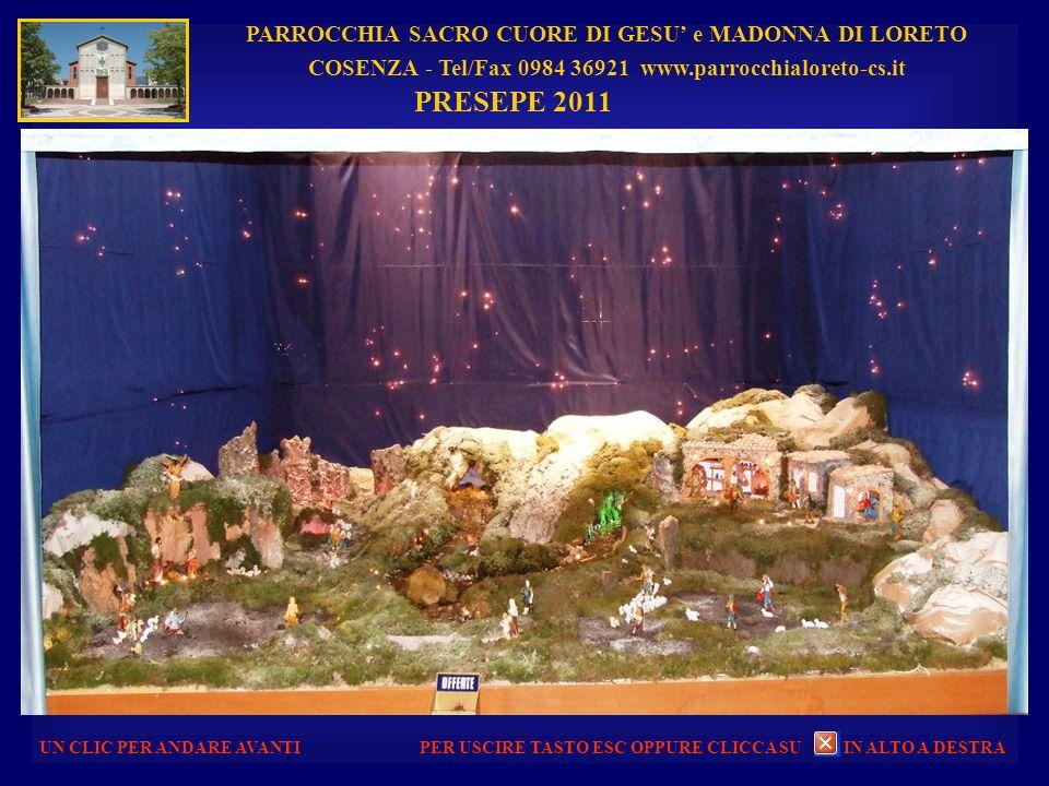 PRESEPE 2011 PARROCCHIA SACRO CUORE DI GESU' e MADONNA DI LORETO