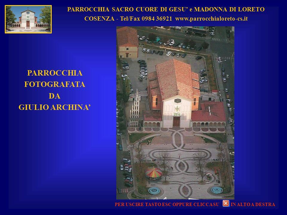 PARROCCHIA FOTOGRAFATA DA GIULIO ARCHINA'