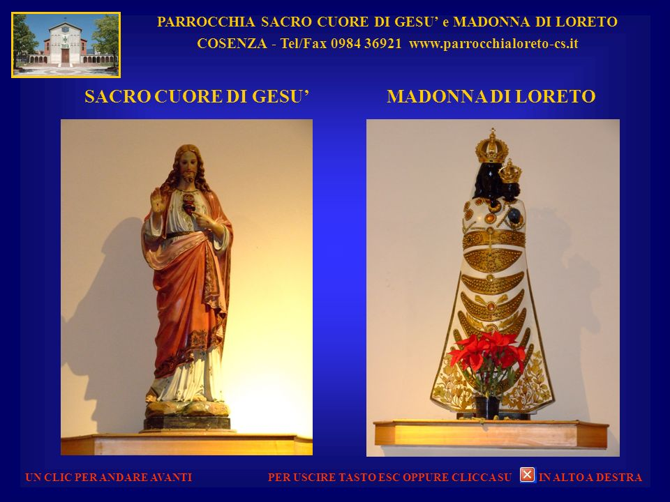 SACRO CUORE DI GESU' MADONNA DI LORETO