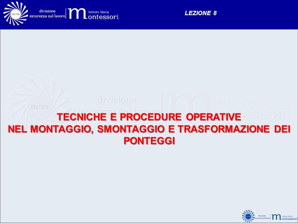 TECNICHE E PROCEDURE OPERATIVE