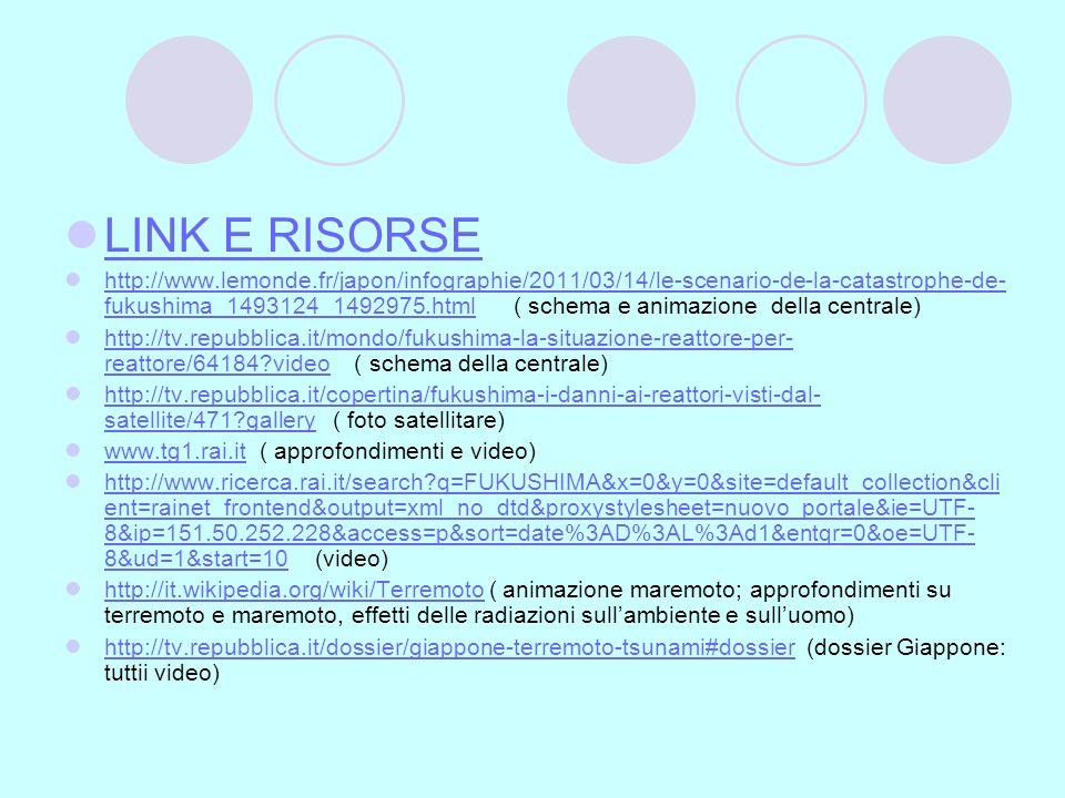 LINK E RISORSE