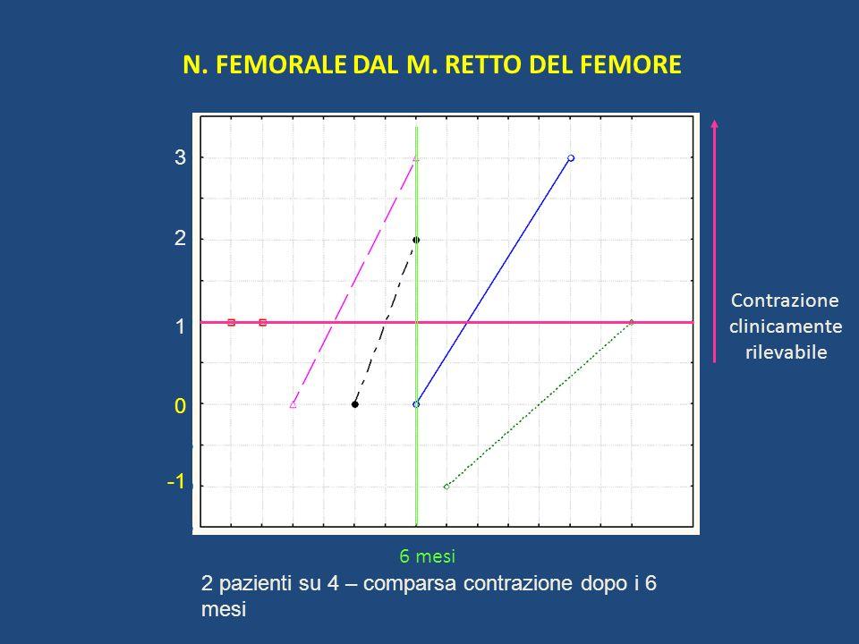 N. FEMORALE DAL M. RETTO DEL FEMORE