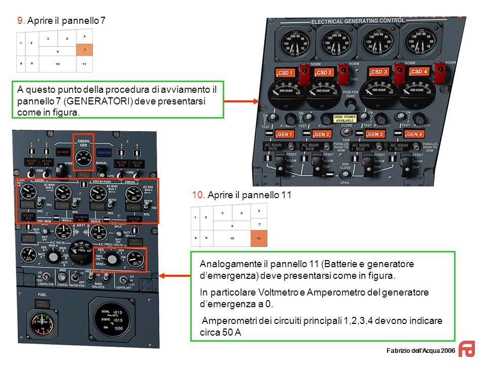 In particolare Voltmetro e Amperometro del generatore d'emergenza a 0.