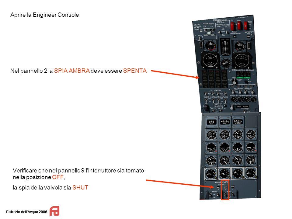 Aprire la Engineer Console
