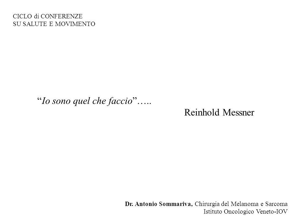 Io sono quel che faccio ….. Reinhold Messner