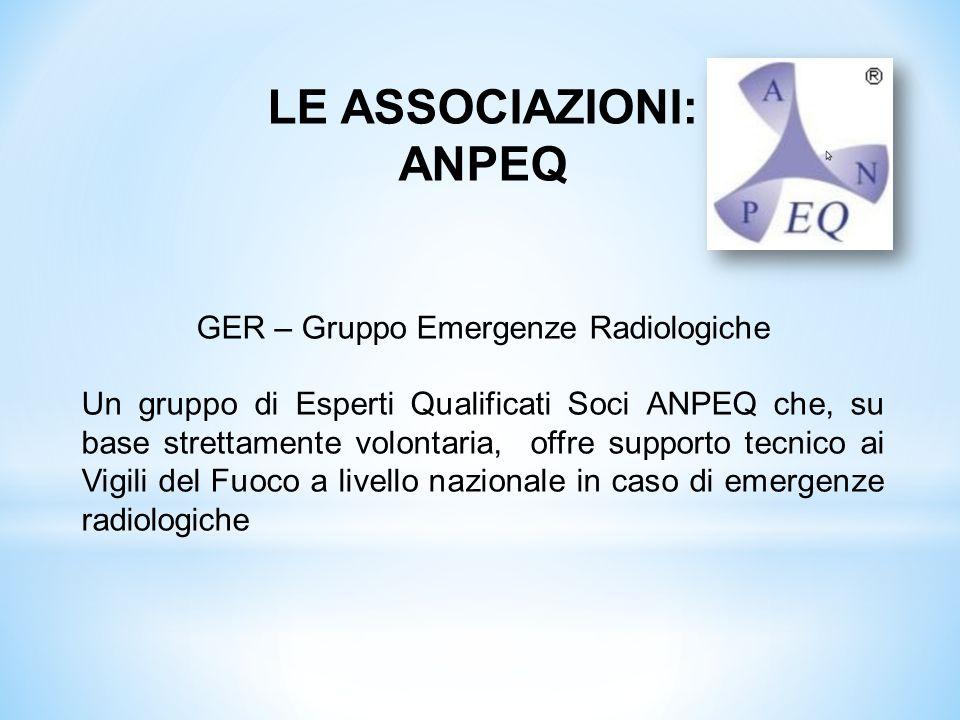 GER – Gruppo Emergenze Radiologiche