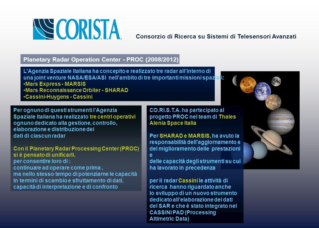 Planetary Radar Operation Center - PROC (2008/2012)