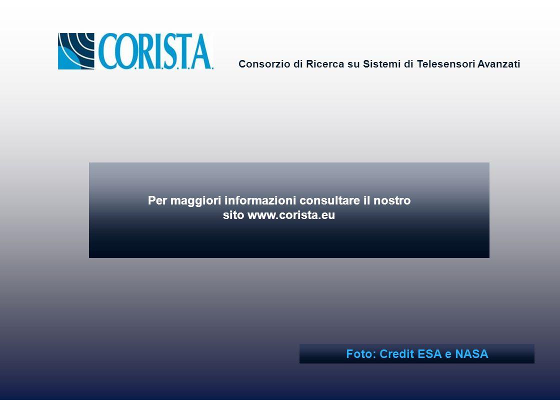 Per maggiori informazioni consultare il nostro sito www.corista.eu
