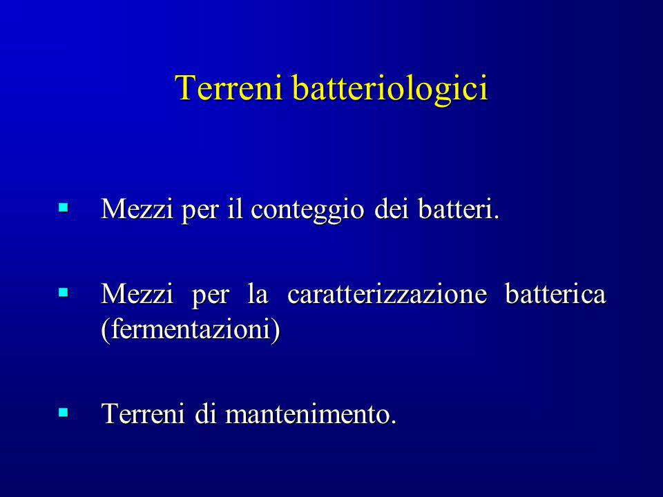 Terreni batteriologici