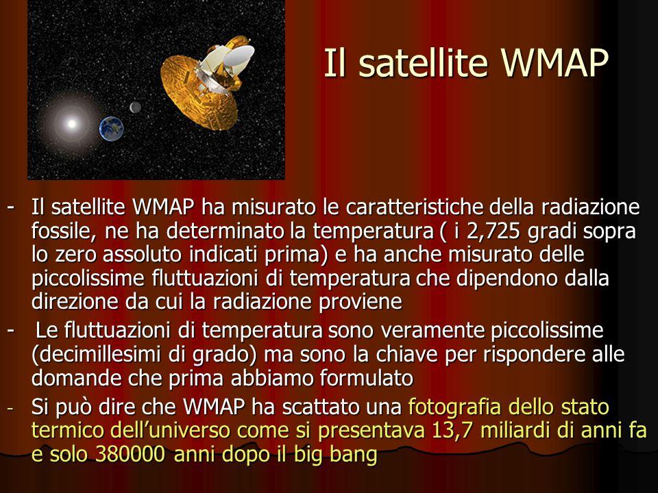 Il satellite WMAP