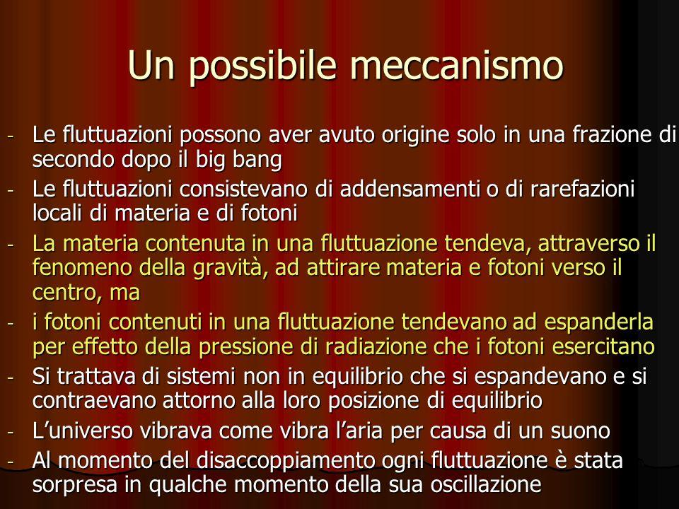 Un possibile meccanismo