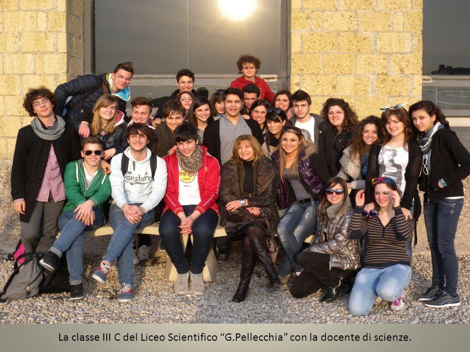 La classe III C del Liceo Scientifico G