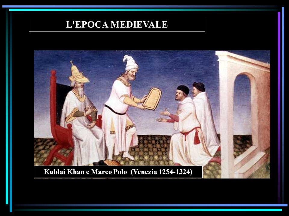 Kublai Khan e Marco Polo (Venezia 1254-1324)