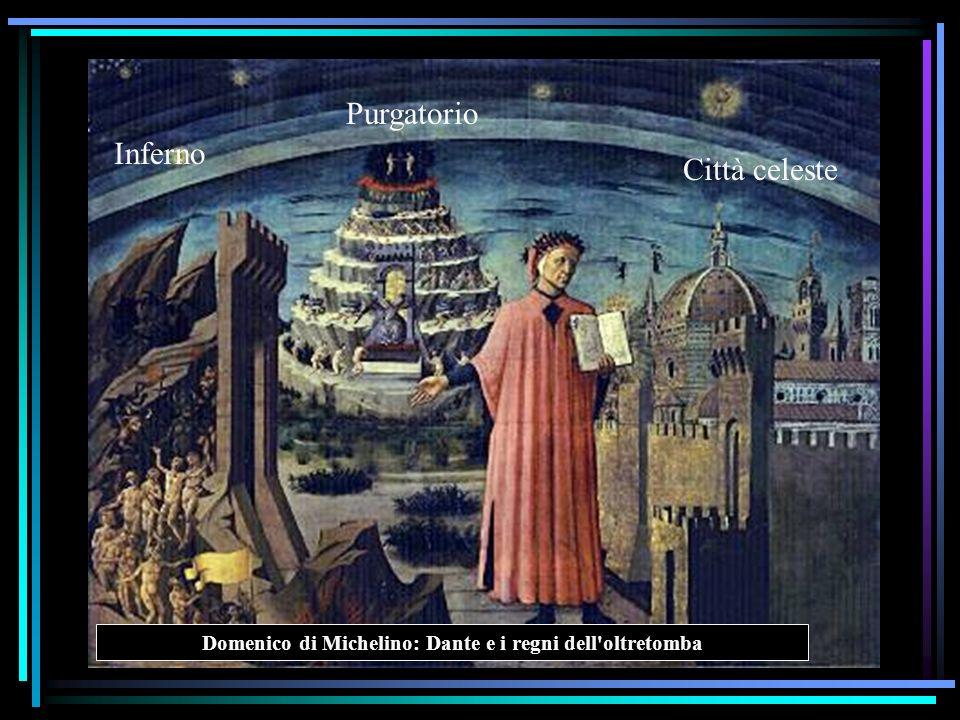 Domenico di Michelino: Dante e i regni dell oltretomba