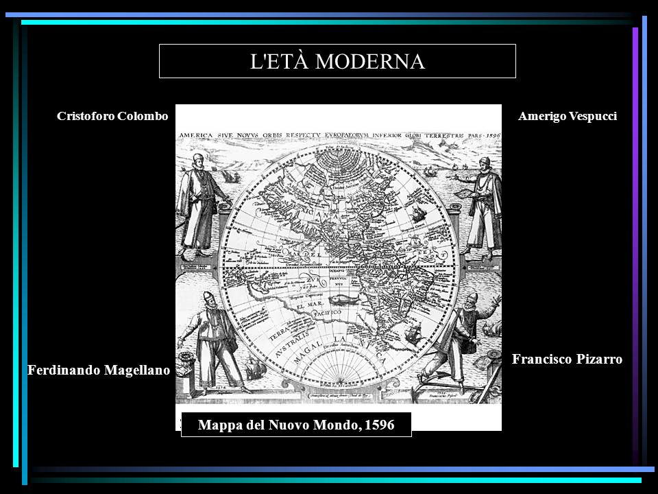 L ETÀ MODERNA Francisco Pizarro Ferdinando Magellano
