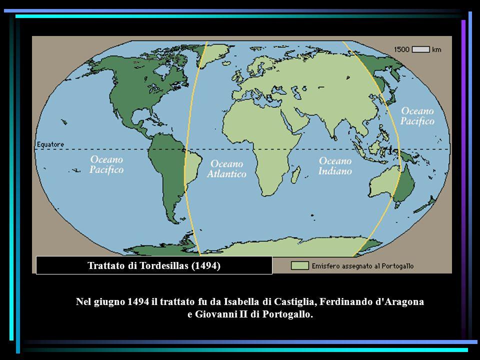 Trattato di Tordesillas (1494)