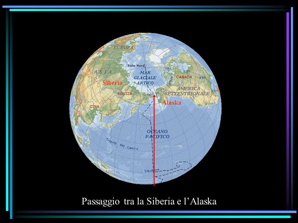 Passaggio tra la Siberia e l'Alaska