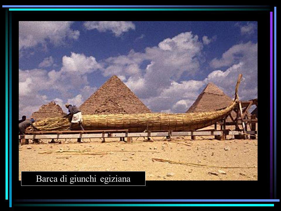 Barca di giunchi egiziana