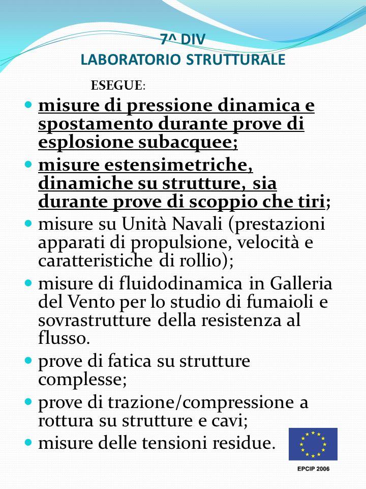 7^ DIV LABORATORIO STRUTTURALE