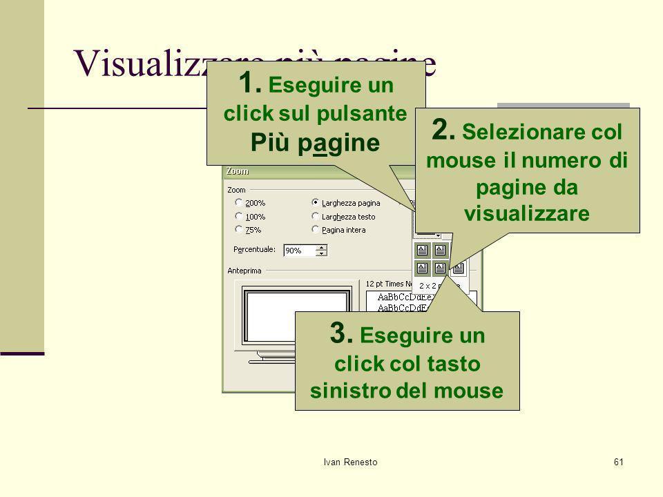 Visualizzare più pagine
