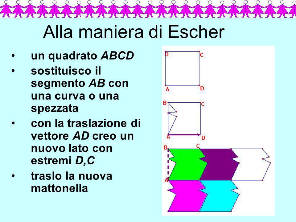 Alla maniera di Escher un quadrato ABCD