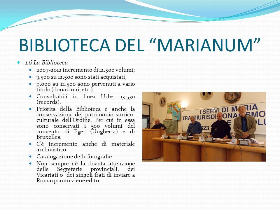 BIBLIOTECA DEL MARIANUM
