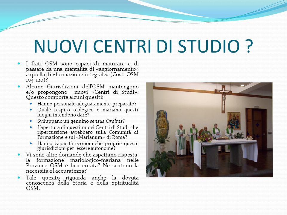 NUOVI CENTRI DI STUDIO