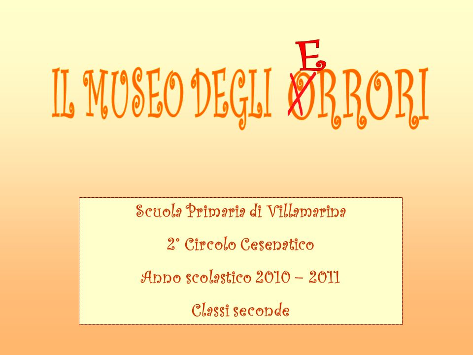 Scuola Primaria di Villamarina