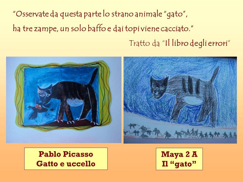 Pablo Picasso Gatto e uccello