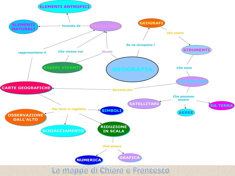 La mappa di Chiara e Francesco