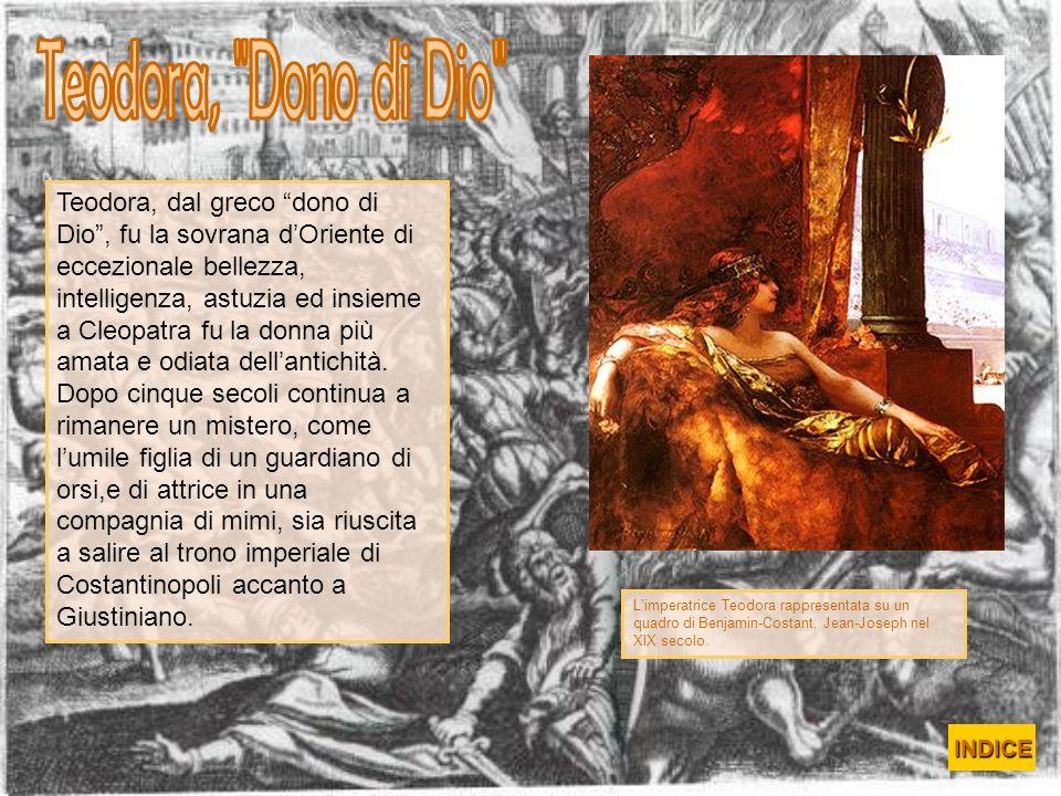 Teodora, Dono di Dio