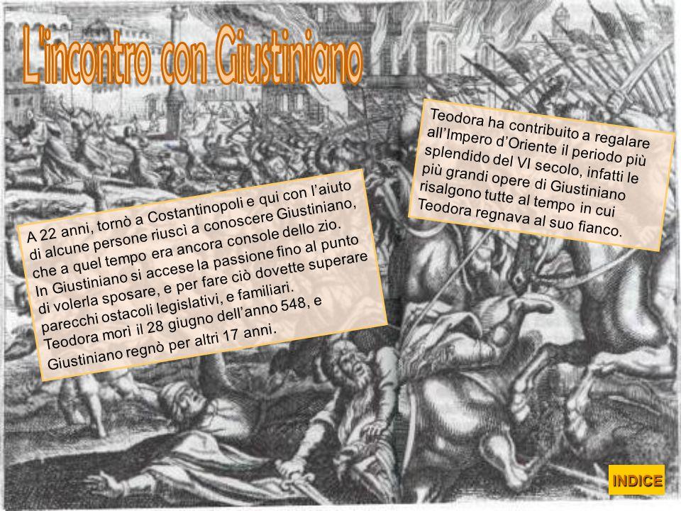 L incontro con Giustiniano