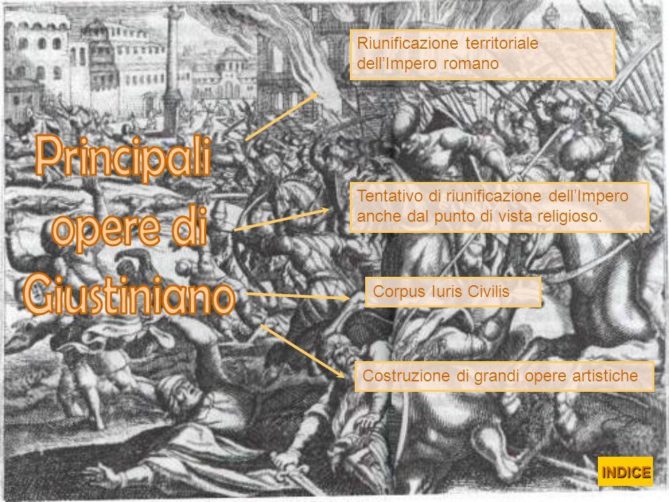 Principali opere di Giustiniano