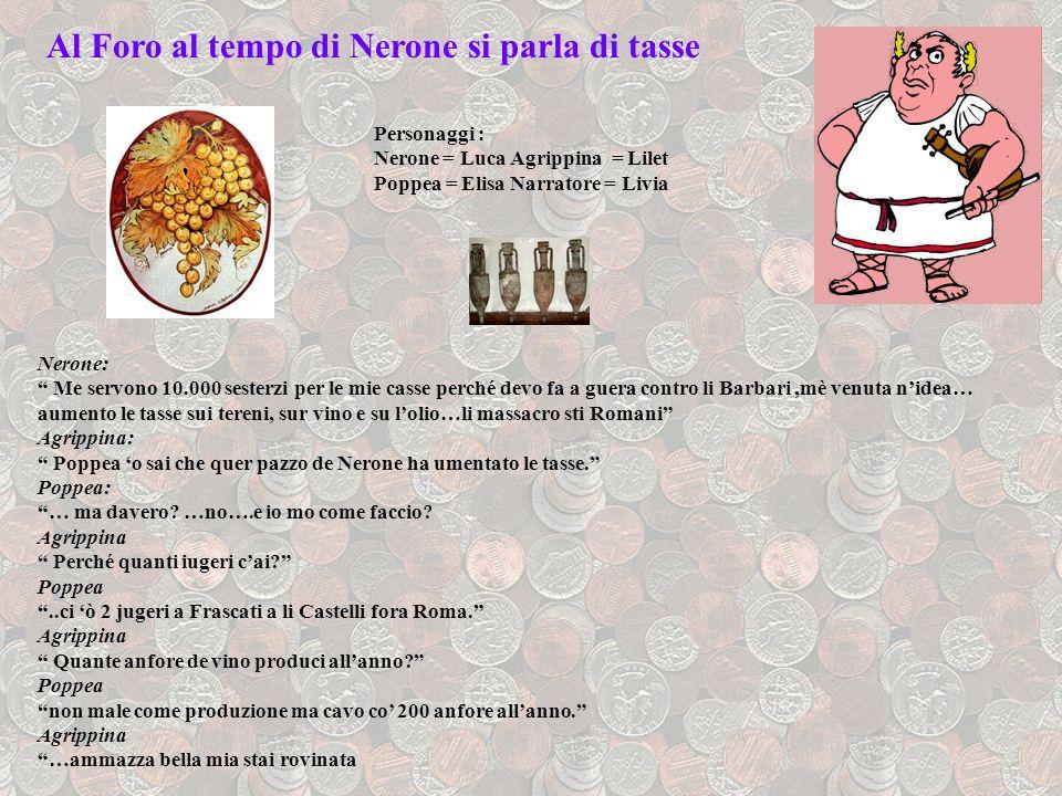 Al Foro al tempo di Nerone si parla di tasse