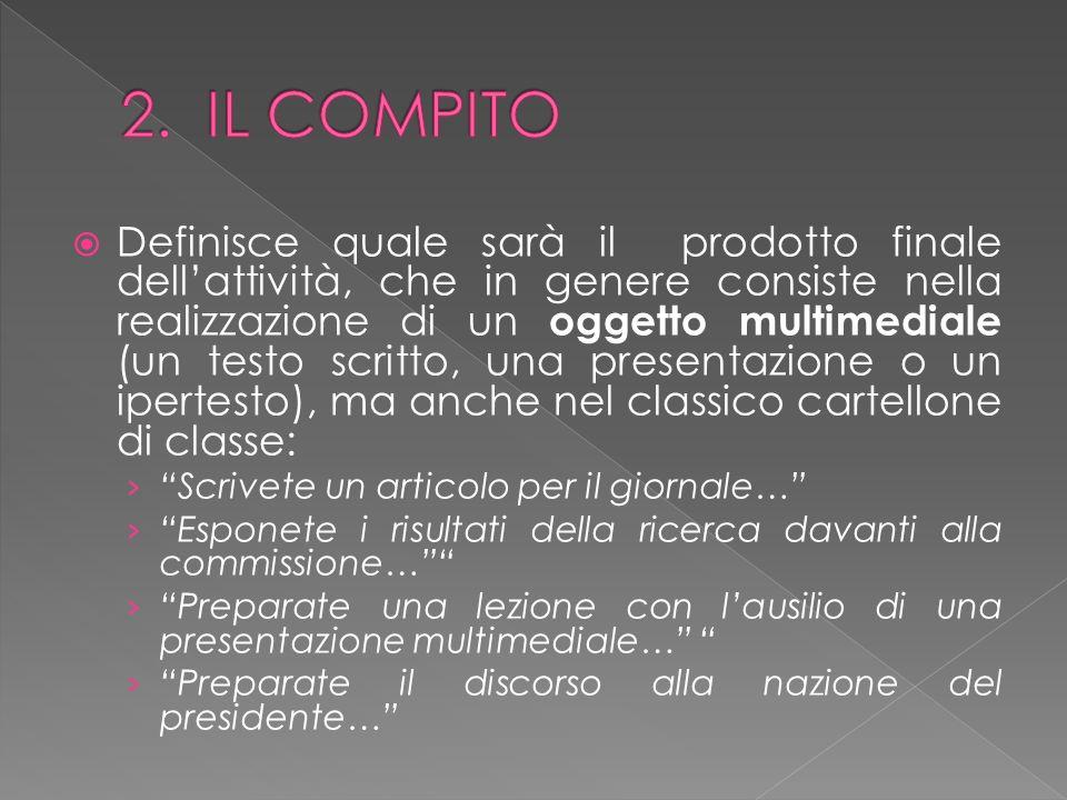 2. IL COMPITO