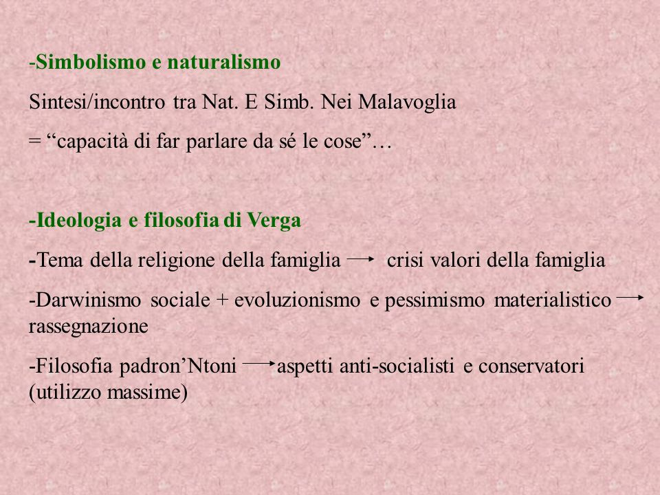 -Simbolismo e naturalismo