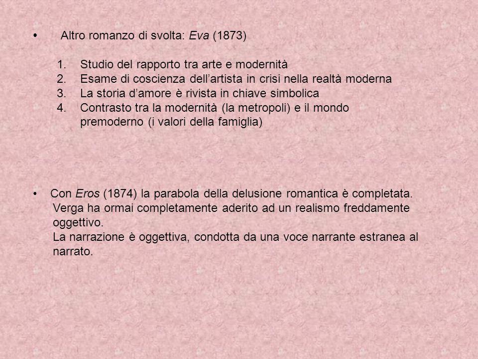 Altro romanzo di svolta: Eva (1873)