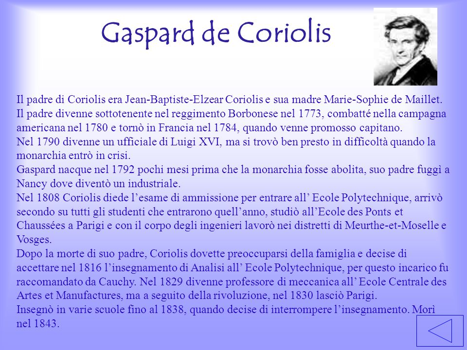 Gaspard de Coriolis